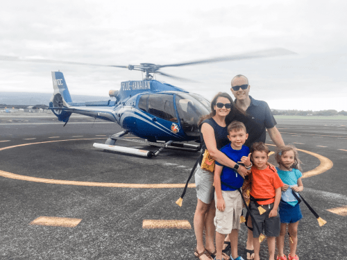 big island of hawaii with kids helicopter tour