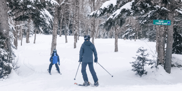 skiing-with-kids-glades