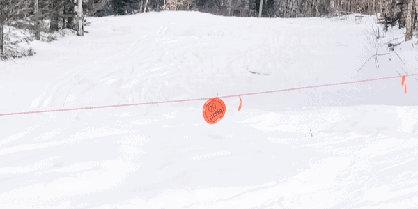 skiing-with-kids-closed-slope-sign
