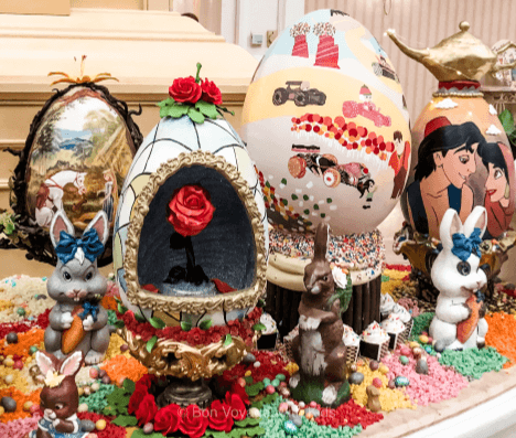 easter-at-disney-grand-floridian-egg-display