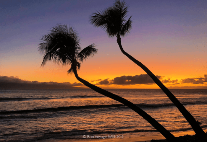things-to-do-with-kids-in-maui-sunset
