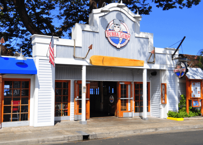 best-restaurants-in-maui-bubba-gump-shrimp-co