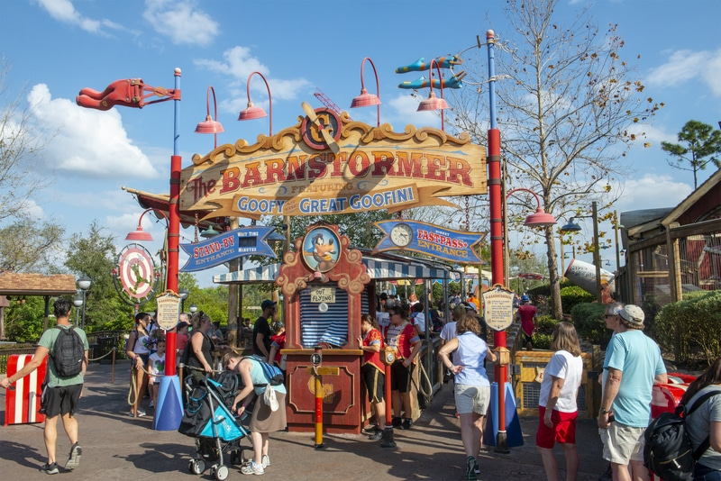 best disney world rides for preschoolers and school age kids