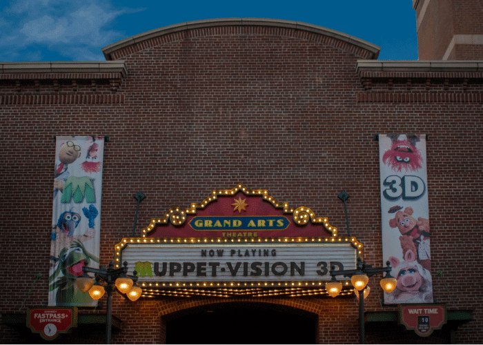 best rides at disney for preschool to school age kids muppet vision 3D