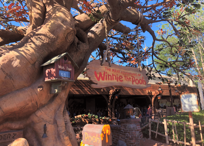 best disney world rides for toddlers winnie the pooh ride