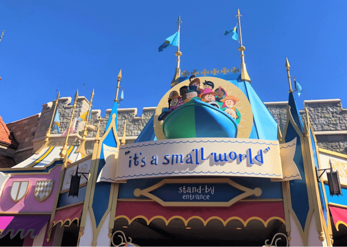 best disney world rides for toddlers its a small world entrance