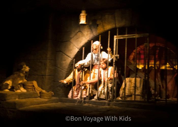 pirates of the caribbean ride at disney world