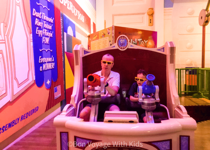 best disney world rides with toddlers toy story mania ride