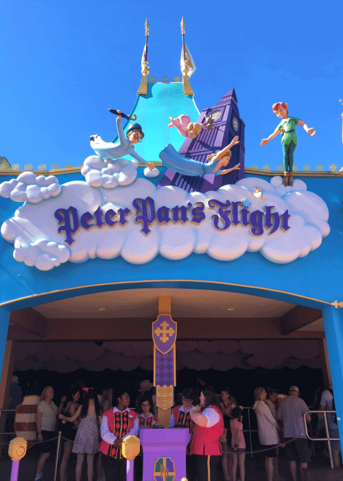 best disney world rides for toddlers peter pan's flight