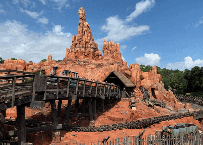 best things to do at disney world with teens - big thunder mountain