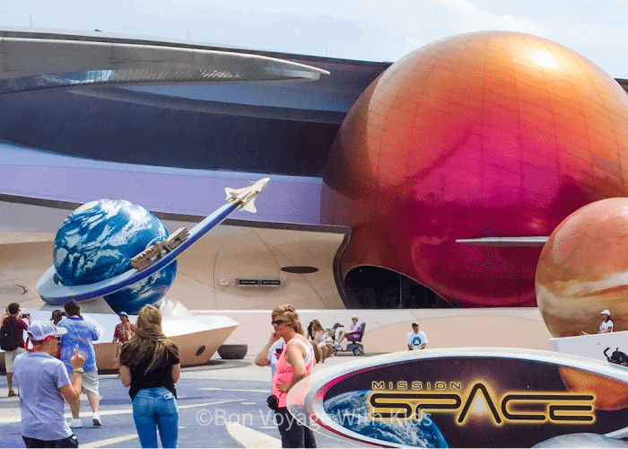 best things to do at disney world with teens mission space