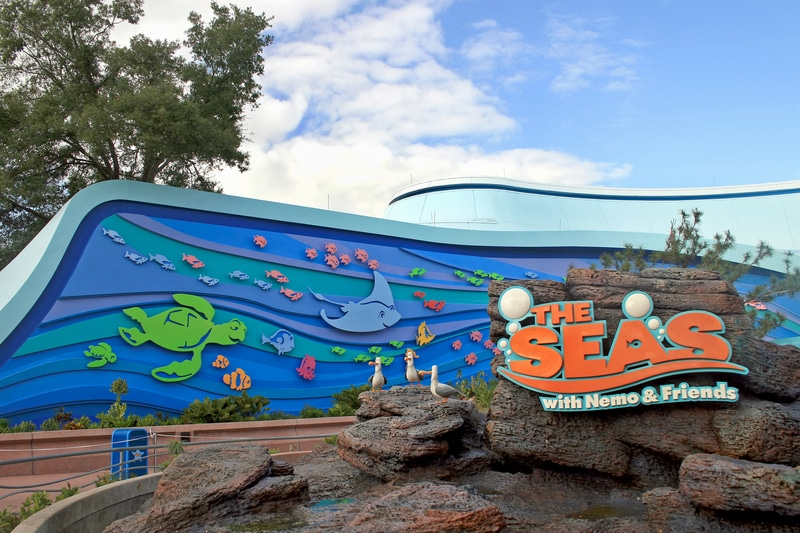 best disney world rides the seas with nemo and friends