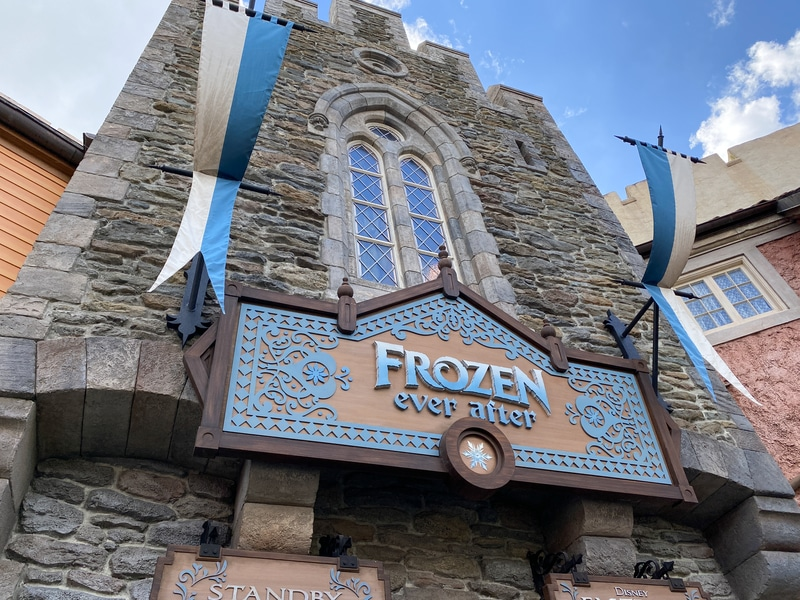 frozen ever after ride at epcot