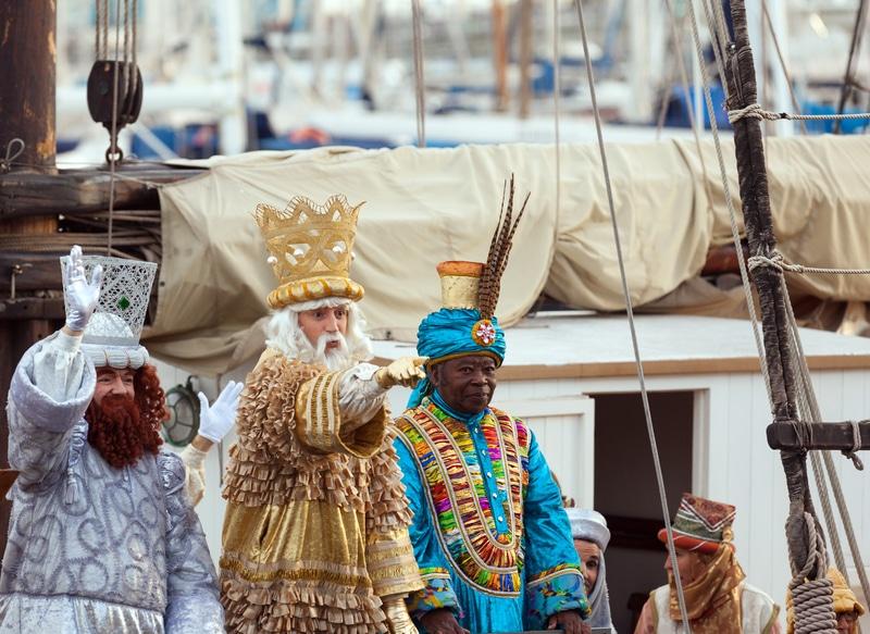 Three kings day in Spain