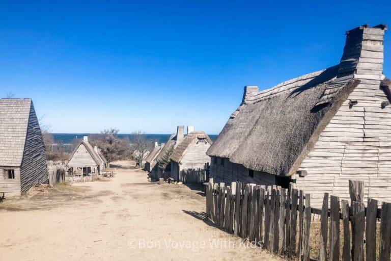 Plimoth Plantation English Colony