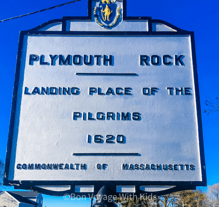 Sign for Plymouth