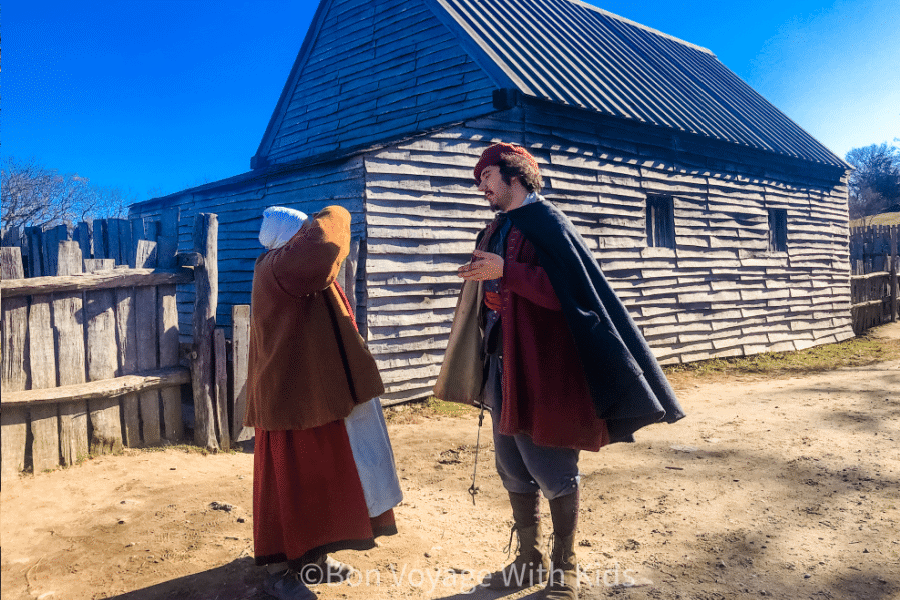 Plimoth Plantation Pilgrims