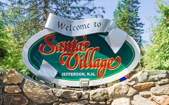 santa's village entrance