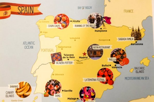 travel-subscription box map of spain