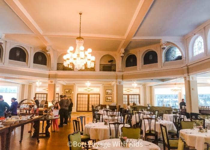 Bretton Woods Omni Mount Washington Dining Room
