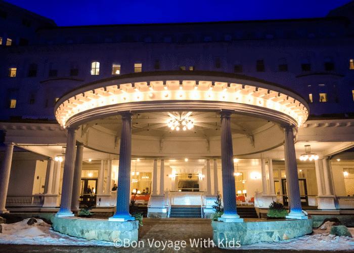 Omni Mount Washington Resort Entrance