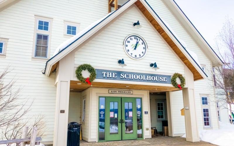 best-ski-resorts-in-vermont-schoolhouse