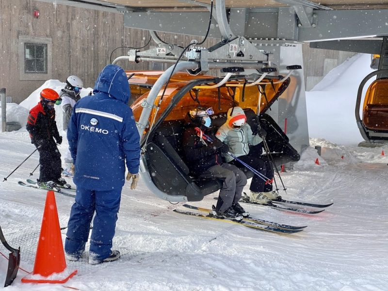 vermont-ski-resorts-for-families-loading-on- the lift
