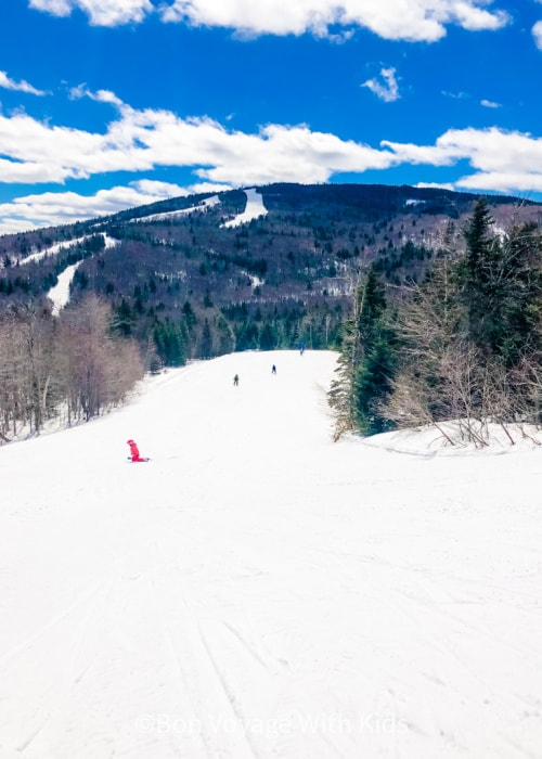 vermont-ski-resorts-for-families-ski-slope