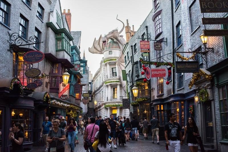 Diagon alley wizarding world of harry potter orlando