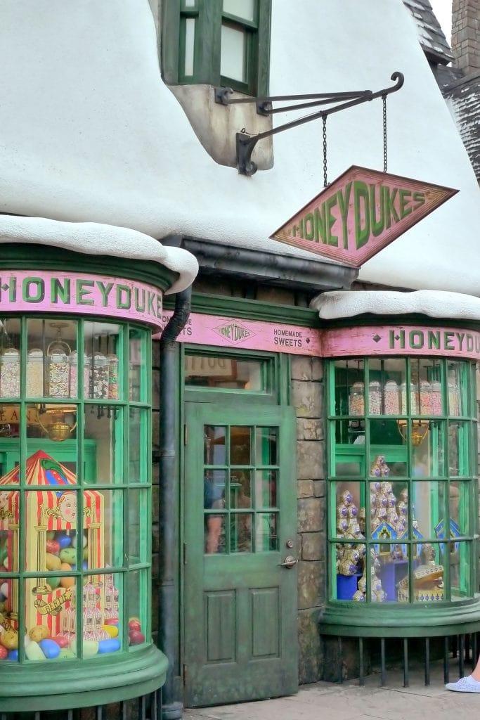 Honeydukes in Hogsmeade at Wizarding World of Harry Potter Orlando