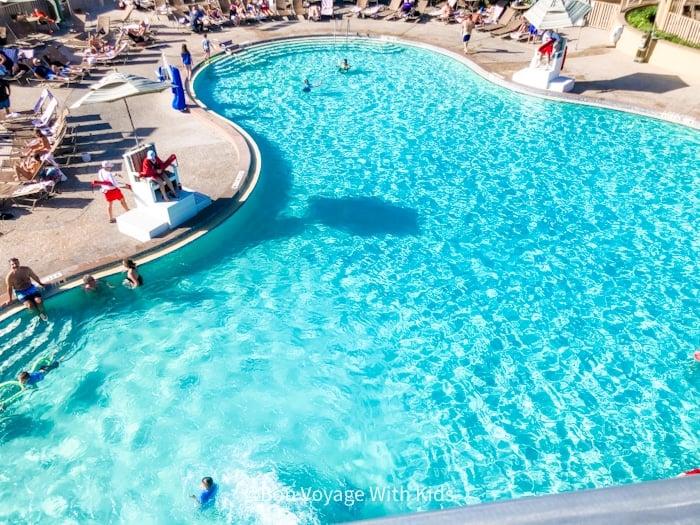 Mickey Shaped Pool at Disney' hotel on vero beach florida