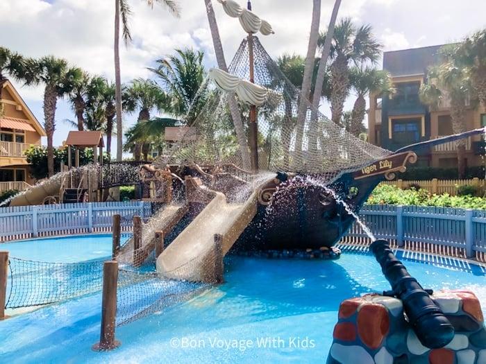 disneys-hotel-on-vero-beach-pirate ship play area