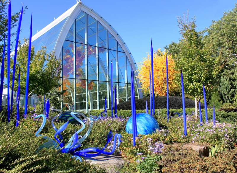Chihuly Garden and Glass Museum Seattle With Kids