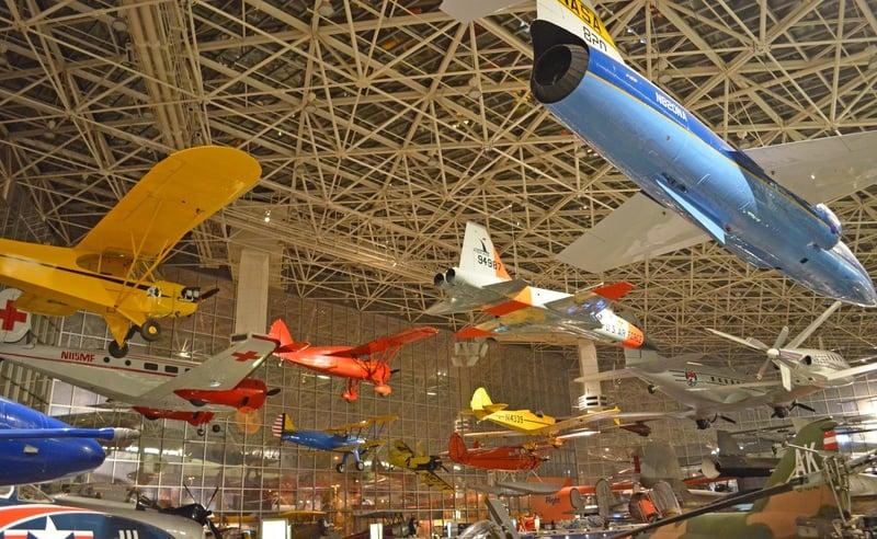 Museum of Flight Seattle Wtih Kids