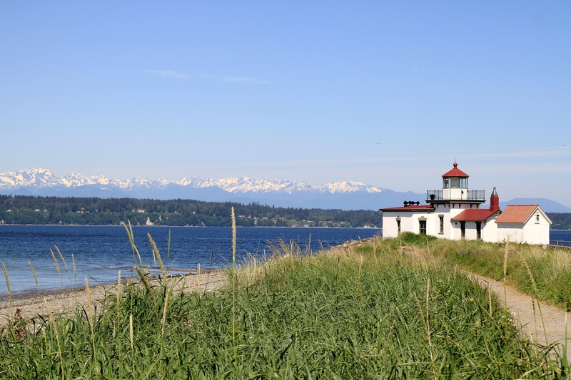 Lighthouse in Seattle Discovery Park