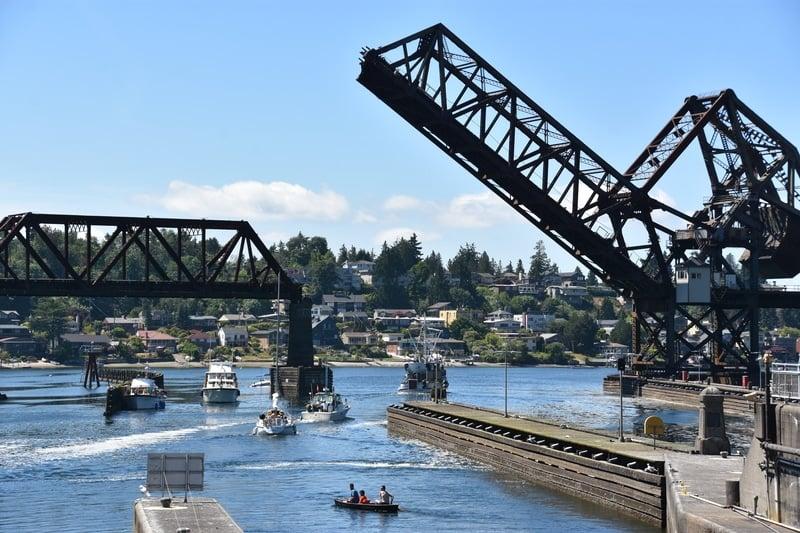 Ballard Locks Seattle With Kids