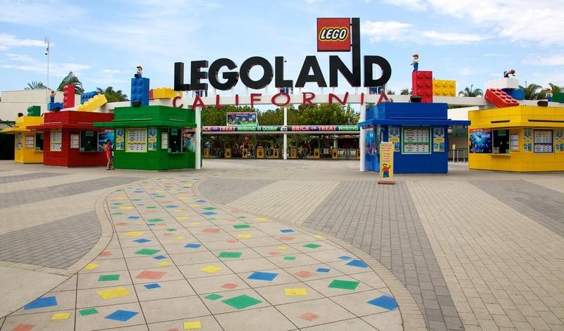 Entrance to Legoland California San Diego