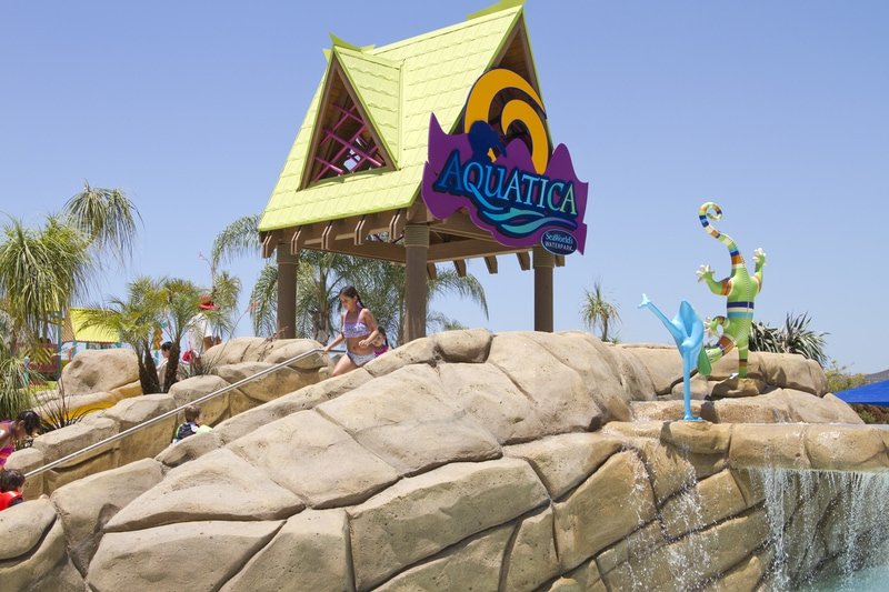 Aquatica San Diego Waterpark things to do in San Diego With Kids