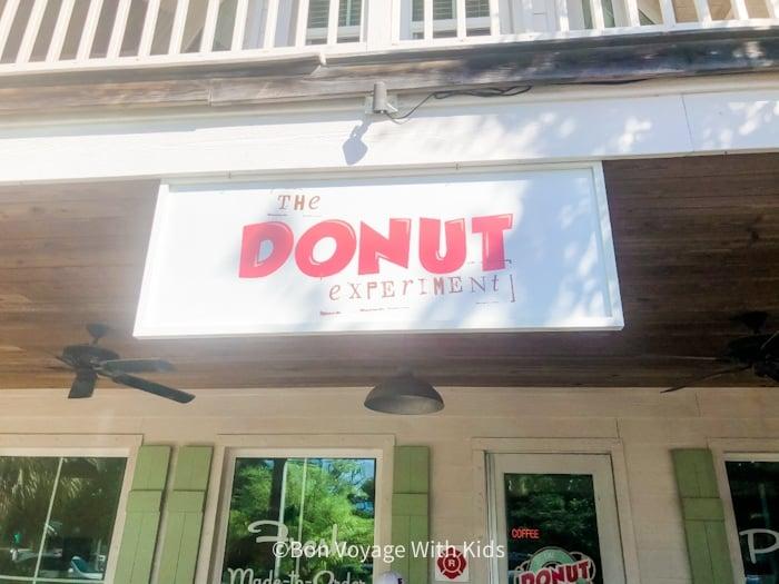 the donut experiment Anna Maria Island Pine Street