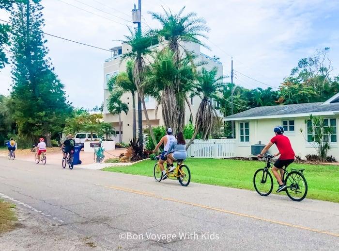 biking riding things to do on anna maria island