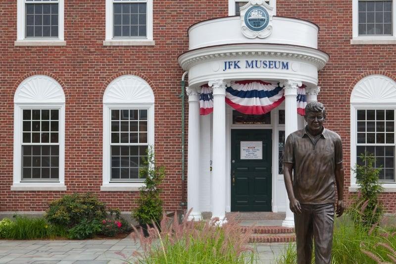 JFK Museum in Hyannis on Cape Cod