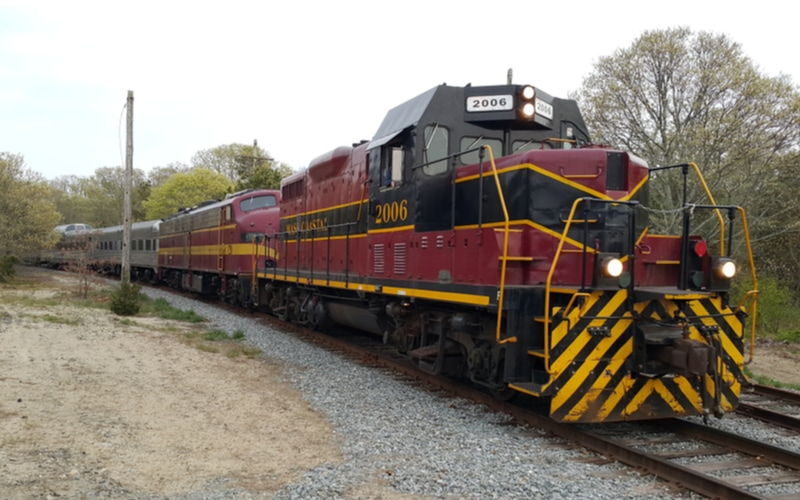 Cape Cod Railway Train one of the best things to do on Cape Cod with kids