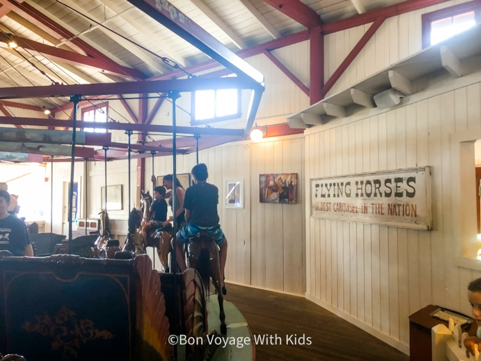 things to do on martha's vineyard with kids flying horses carousel