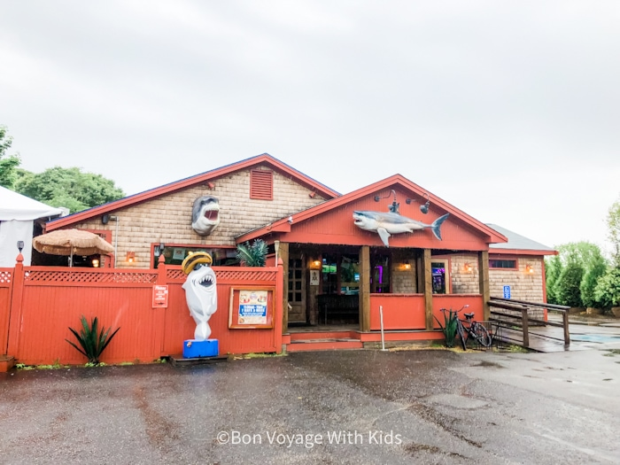 Sharky's restaurant Martha's Vineyard