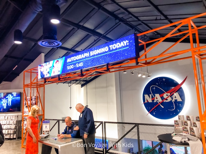 visit kennedy space center astronaut signing