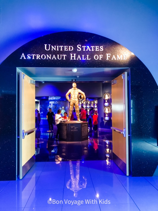 visit kennedy space center astronaut hall of fame