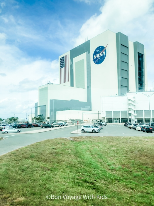 visit kennedy space center rocket nasa building on bus tour