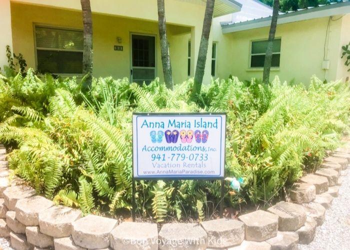 home rantal on anna maria island