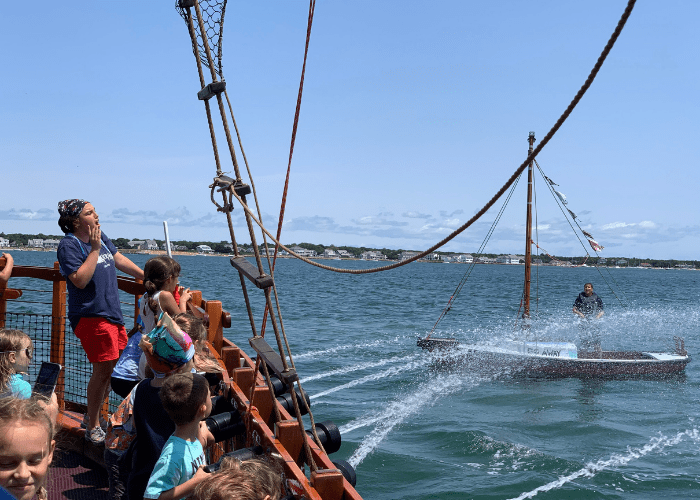 things to do on cape cod with kids pirate adventure boat