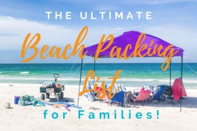 The ULTIMATE Beach Packing List For Families (+ FREE Printable Checklist)